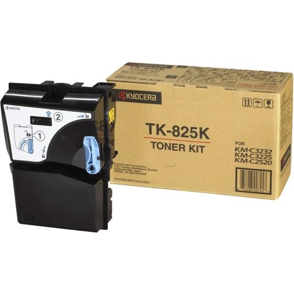 Original Kyocera 1T02FZ0EU0 / TK-825 K Toner schwarz 15.000 Seiten