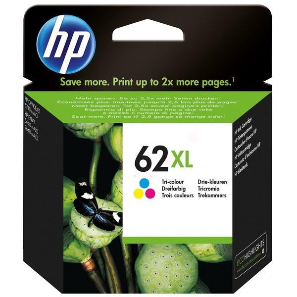 Original HP C2P07AE / 62XL Druckkopfpatrone color 415 Seiten