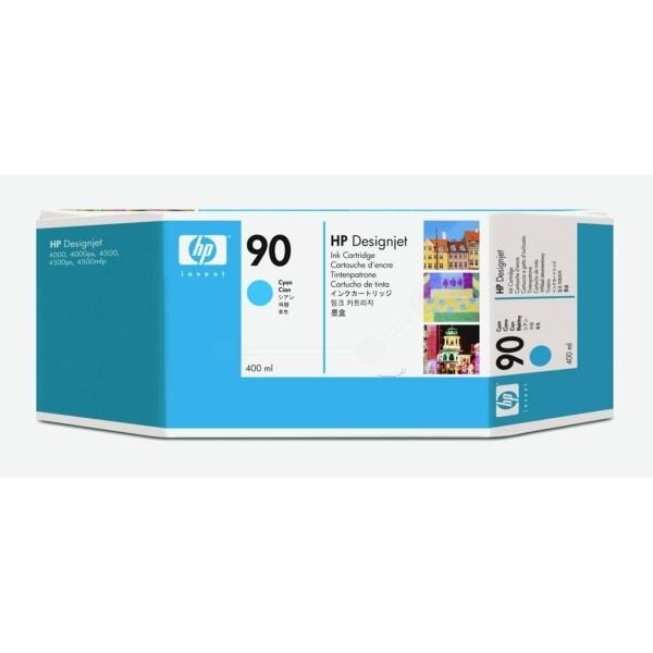 Original HP C5061A / 90 Tintenpatrone cyan 400 ml 750 Seiten