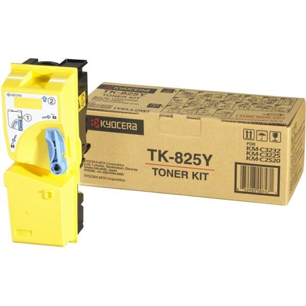 Original Kyocera 1T02FZAEU0 / TK-825 Y Toner gelb 7.000 Seiten