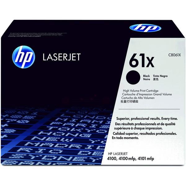 Original HP C8061X / 61X Tonerkartusche schwarz High-Capacity 10.000 Seiten