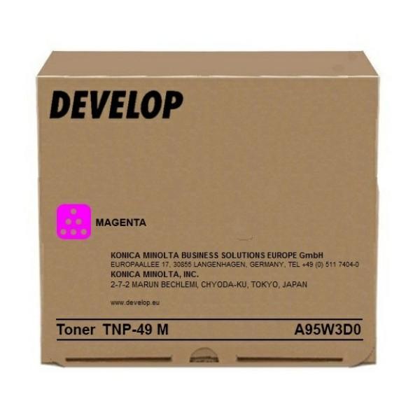 Original Develop A95W3D0 / TNP-49 M Toner magenta 12.000 Seiten