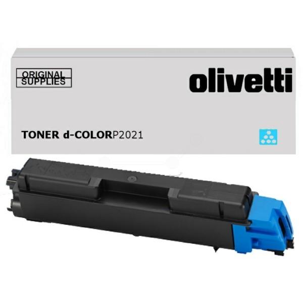 Original Olivetti B0953 Toner cyan 2.800 Seiten