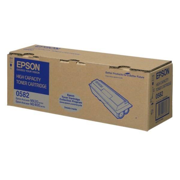 Original Epson C13S050582 / 0582 Tonerkartusche schwarz 8.000 Seiten