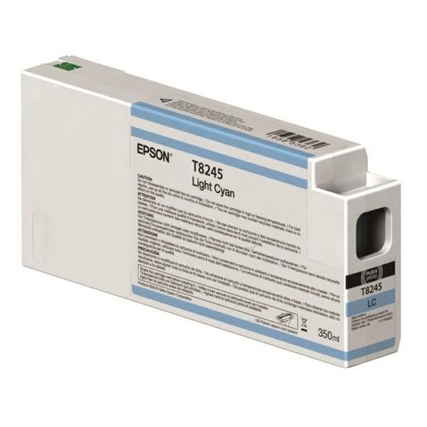 Original Epson C13T824500 / T8245 Tintenpatrone cyan hell 350 ml