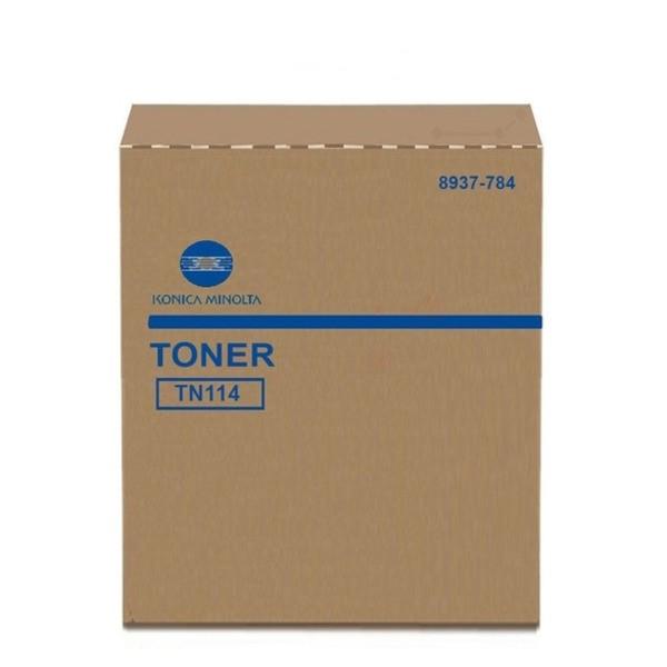 Original Konica Minolta 8937784 / TN-114 Toner schwarz 11.000 Seiten