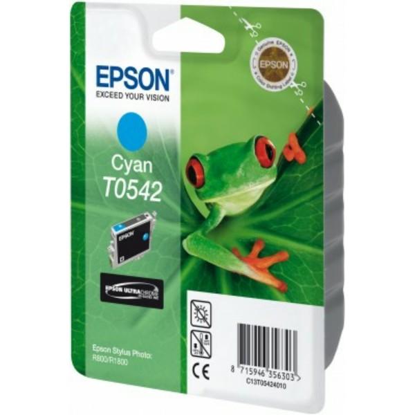 Original Epson C13T05424010 / T0542 Tintenpatrone cyan 13 ml 400 Seiten
