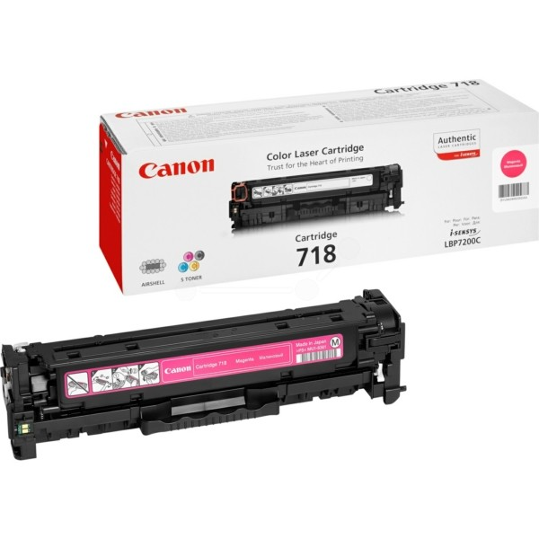 Original Canon 2660B002 / 718M Tonerkartusche magenta 2.900 Seiten