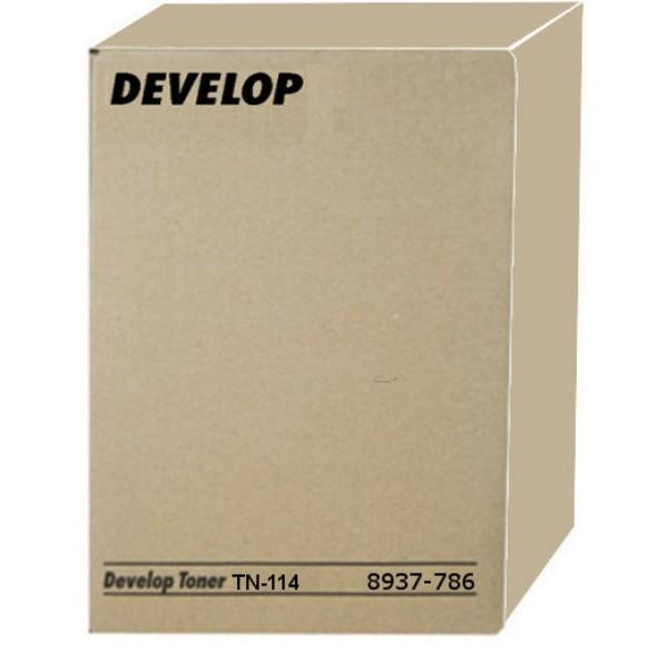 Original Develop 8937786000 / TN-114 Toner schwarz 11.000 Seiten