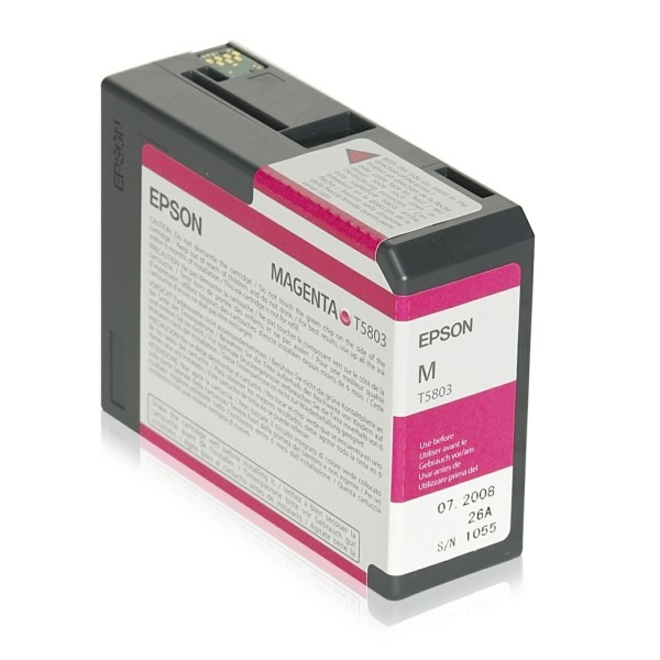 Original Epson C13T580300 / T5803 Tintenpatrone magenta 80 ml